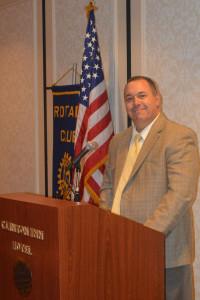 Principal John Fabbo Introducing Mackay Teachers