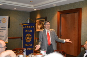 District Governor Meeting at Tenafly rotary Club