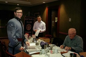 Tenafly Rotary Club Preparing Dictionaries 2