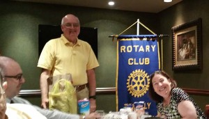 Office Of Concern Visits Tenafly Rotary