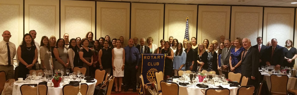 Tenafly Rotary New Teacher Luncheon Participants