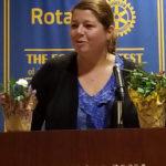 Jennifer Ferrara, Maugham Principal - Tenafly Rotary Teachers Luncheon