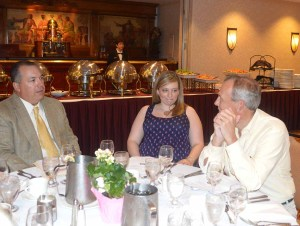 John Fabbo Lindsay Truncle Martin Hugley 2014 Tenafly Rotary Teachers Luncheon
