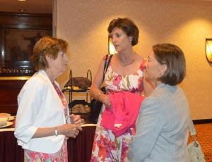 Maureen Duffy Mary Delouvrier Ann Powell 2014 Tenafly Rotary Teachers Luncheon