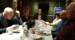David Fischer Author of The Super Bowl: The First Fifty Years of America's Greatest Game visits Tenafly Rotary