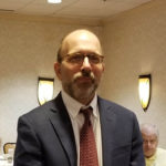 Marc Gold THS Vice PrincipalJim Morrison THS Principal Tenafly Rotary Teachers Luncheon