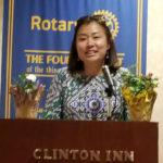 Brenda Yoo, Mackay Principal - Tenafly Rotary Teachers Luncheon