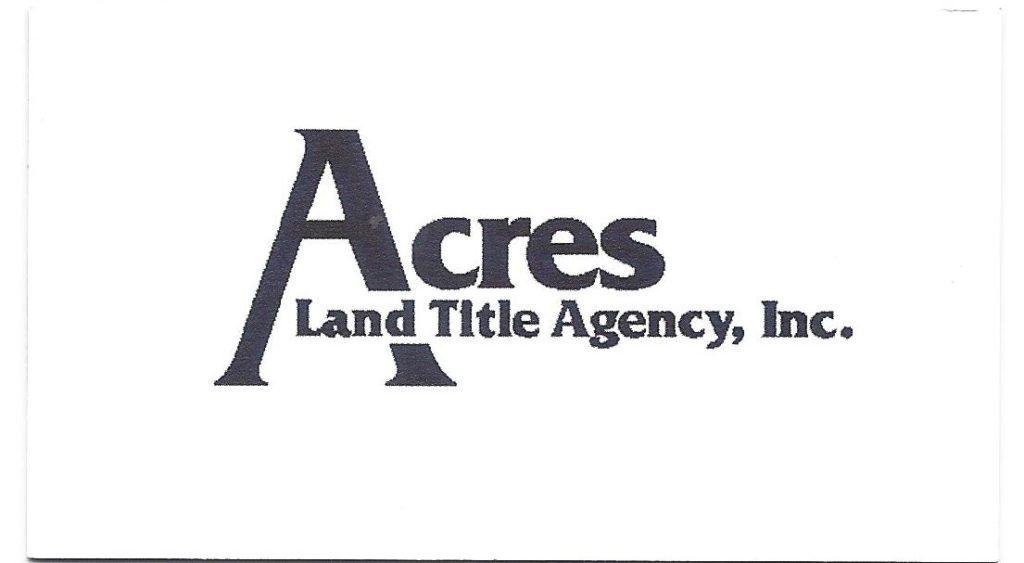 Acres Land Title Agency, Inc